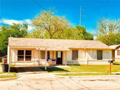 Mineral Wells TX Single Family Home For Sale: $87,500