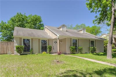 Garland Single Family Home Active Option Contract: 905 Maydelle Lane