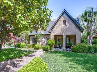 Dallas Single Family Home For Sale: 931 Thomasson Drive