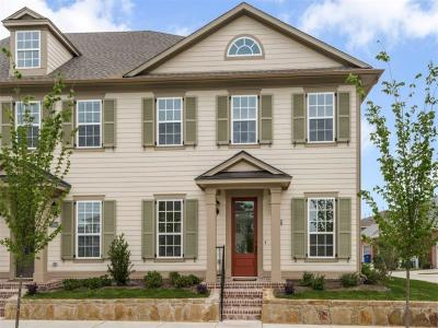 Frisco Townhouse For Sale: 4072 Cotton Gin Road