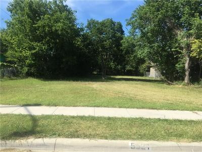 Fort Worth Residential Lots & Land For Sale: 5521 Capers Avenue