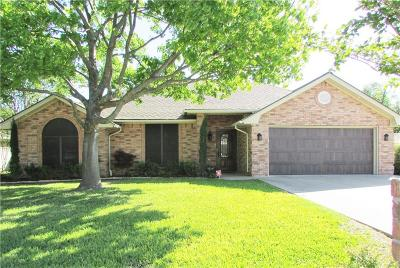 Stephenville Single Family Home Active Option Contract: 1425 Oakwood Drive