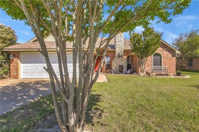 Weatherford Single Family Home Active Option Contract: 506 Ridgeway Boulevard