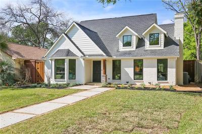 Dallas Single Family Home For Sale: 5823 Belmont Avenue