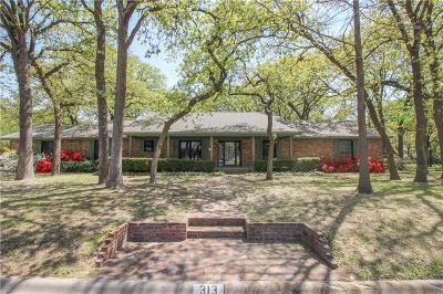 Denton Single Family Home For Sale: 313 Pennsylvania Drive