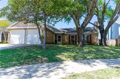 Flower Mound Single Family Home Active Option Contract: 5412 Gregory Drive