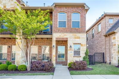 Carrollton Townhouse For Sale: 1452 Arapaho Drive