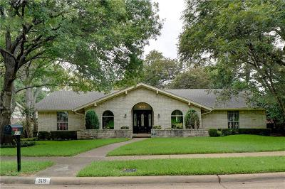 Richardson Single Family Home For Sale: 2419 Little Creek Drive