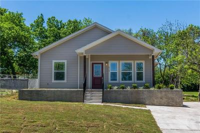 Sherman Single Family Home For Sale: 214 N Ricketts