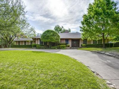 Dallas Single Family Home For Sale: 6186 Prestondell Drive