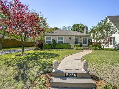 Single Family Home For Sale: 5254 Vanderbilt Avenue