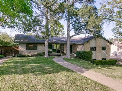 Dallas Single Family Home For Sale: 1745 Timbergrove Circle