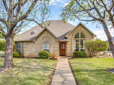 Grapevine Single Family Home Active Option Contract: 3112 Sweet Briar Street