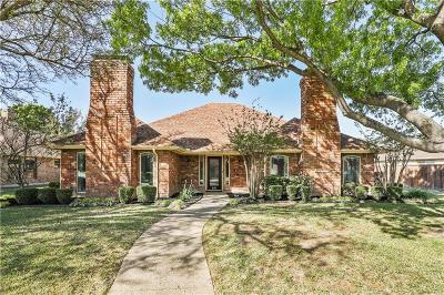 Coppell Single Family Home Active Option Contract: 641 Shadowcrest Lane