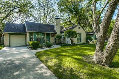 Dallas Single Family Home For Sale: 9424 Waterview Road