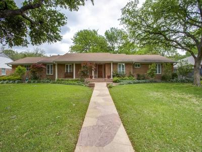Dallas Single Family Home For Sale: 10240 Sherbrook Lane