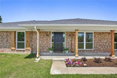 Sachse Single Family Home For Sale: 1703 Cartwright Drive