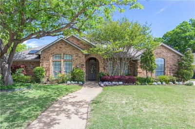 Plano Single Family Home Active Option Contract: 4561 Bentley Drive
