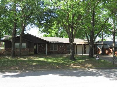 Hurst Single Family Home Active Option Contract: 405 Fieldwood Terrace
