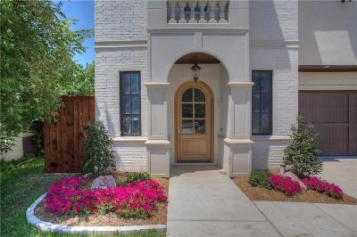 Fort Worth Single Family Home For Sale: 3730 W 4th Street