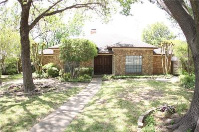 Richardson Single Family Home For Sale: 1614 Woodoak Drive