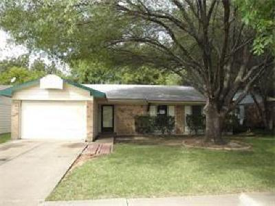 Garland Residential Lease For Lease: 1513 Nueces Drive