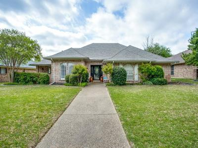 Plano Single Family Home Active Option Contract: 3612 Doubletree Court