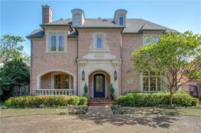 Highland Park, University Park Single Family Home For Sale: 4333 Southwestern Boulevard
