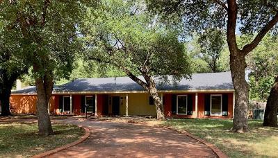 Abilene Single Family Home For Sale: 1609 Woodridge Drive
