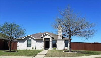 Wylie Single Family Home Active Option Contract: 702 Kerwin Court