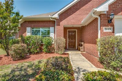 Little Elm Single Family Home Active Option Contract: 2113 Castle Creek Drive