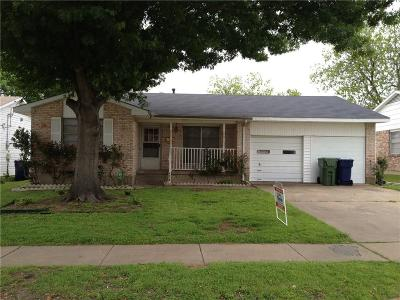 Garland Single Family Home For Sale: 4618 Lawler Road