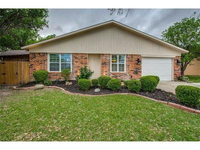 Garland Single Family Home Active Option Contract: 1417 Whippoorwill Drive