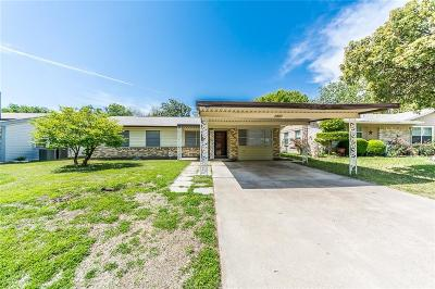Mesquite Single Family Home For Sale: 2407 Lagoon Drive
