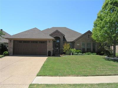Benbrook Single Family Home Active Option Contract: 7512 Heights View Drive