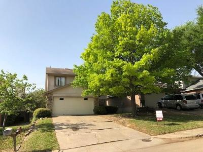 Mesquite Single Family Home Active Option Contract: 516 Blanco Drive