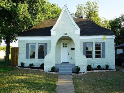 Dallas Single Family Home For Sale: 326 W Louisiana Avenue