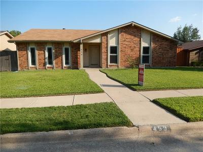Coppell Residential Lease For Lease: 459 Woodhurst Drive