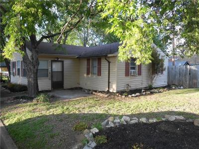 Lewisville Single Family Home Active Option Contract: 225 Conner Plaza