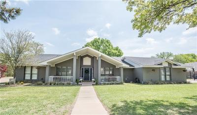 Weatherford Single Family Home For Sale: 2209 Lakeforest Drive
