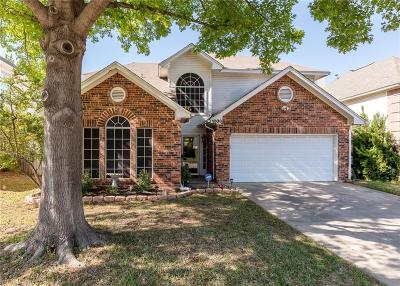 Grapevine Single Family Home Active Option Contract: 1808 Hunters Ridge Drive