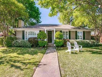 Dallas Single Family Home For Sale: 6905 Southridge Drive
