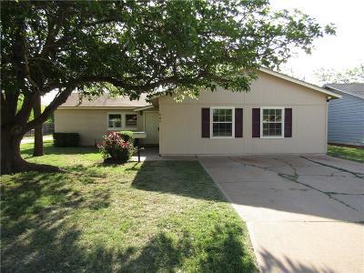 Abilene Single Family Home For Sale: 609 S Bowie Drive