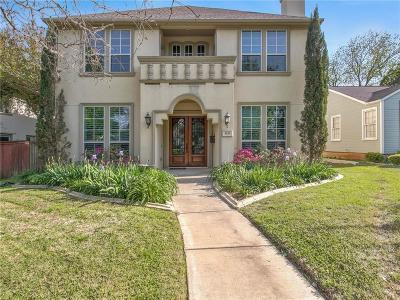 Fort Worth Single Family Home For Sale: 5233 El Campo Avenue