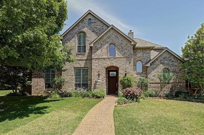 Allen Single Family Home Active Contingent: 615 Williams Drive
