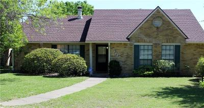 Mesquite Single Family Home For Sale: 1540 Ector Circle