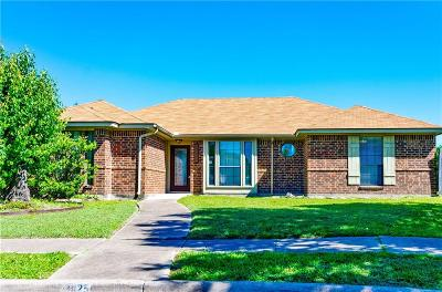 Rowlett Single Family Home Active Option Contract: 8025 Rice Drive