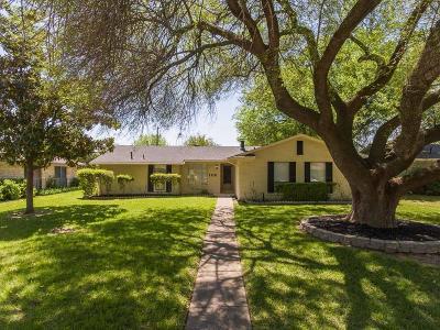 Richardson Single Family Home Active Option Contract: 1110 Wake Drive