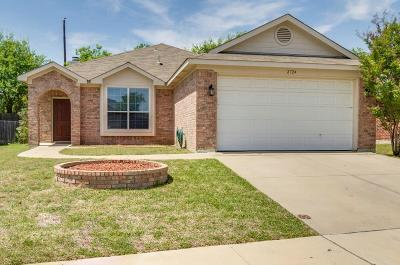 Fort Worth Single Family Home For Sale: 2724 Wakecrest Drive