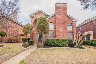 Coppell Single Family Home Active Option Contract: 724 Ashford Drive